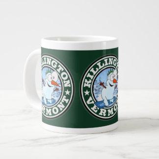 Killington Snowman Circle Jumbo Mug