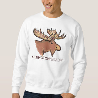 Killington Vermont brown moose unisex sweatshirt