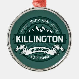 "Killington ""Vermont Green"" Christmas Ornament"