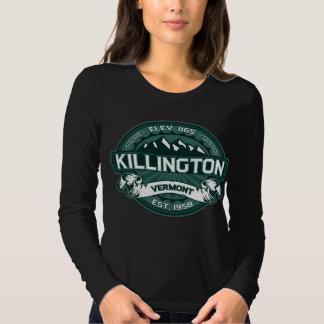 Killington Vermont Green Dark Tshirt