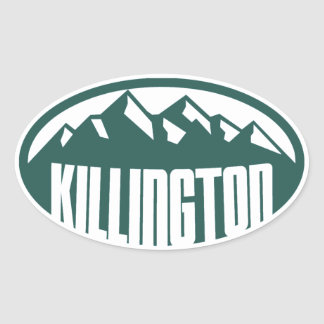 Killington Vermont Oval Sticker
