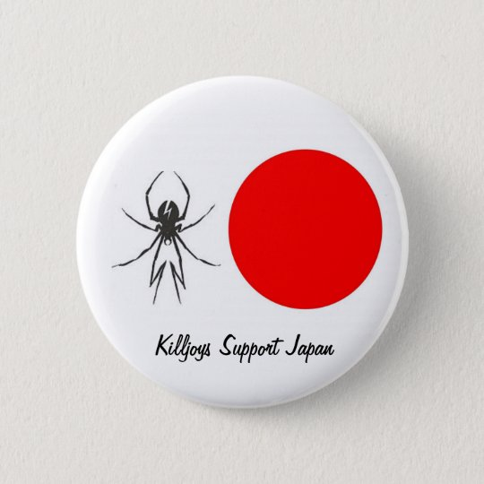 Killjoys Support Japan 6 Cm Round Badge