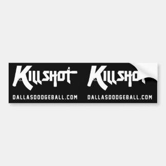 KILLSHOT Dodgeball Bumper Sticker