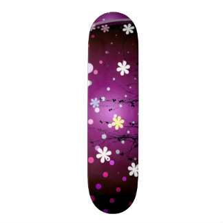 Killstar Signature Urban Flowers Custom Pro Park Skate Board Deck