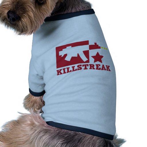 KILLSTREAK machine gun Dog Clothes