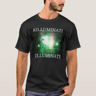 Killuminati black and green T-Shirt