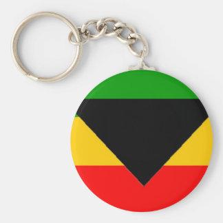 Killuminati Pyramid Basic Round Button Key Ring