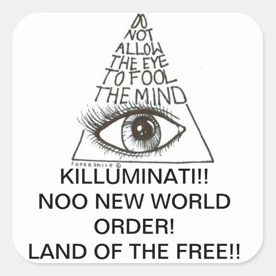 Killuminati Sticker
