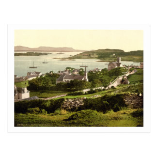 Killybegs Village, Donegal, Ireland, 19th century Postcard