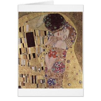 """Kilmt's """"The Kiss"""" Card"""