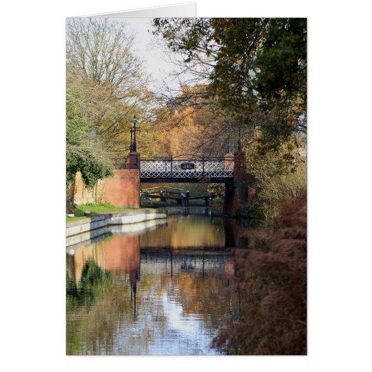 Kiln Bridge in Spring Card