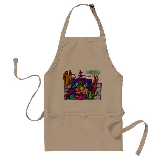 kiln god apron for ceramics