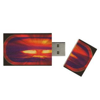 kiloton-914 wood USB 2.0 flash drive