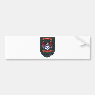 Kilpatrick Crest on Douglas Shield Bumper Sticker