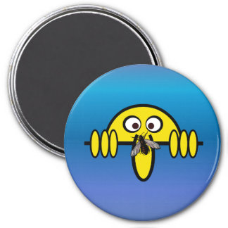 Kilroy Fly on Nose 7.5 Cm Round Magnet