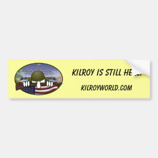 Kilroy Still Here Bumper Sticker