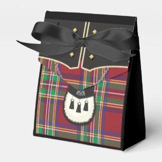kilt party favour box