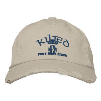 KILTED MEN hat Embroidered Baseball Cap