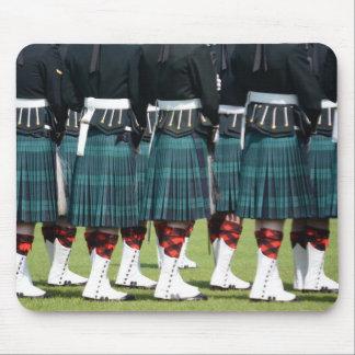 Kilted Men in Edinburgh, Scotland Mouse Pads