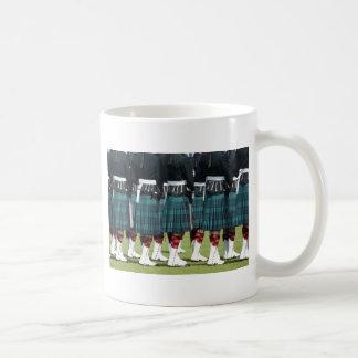 Kilted Men in Edinburgh, Scotland Coffee Mugs
