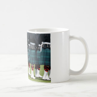 Kilted Men in Edinburgh, Scotland Coffee Mug