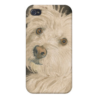 Kiltie the West Highland White Terrier Cover For iPhone 4