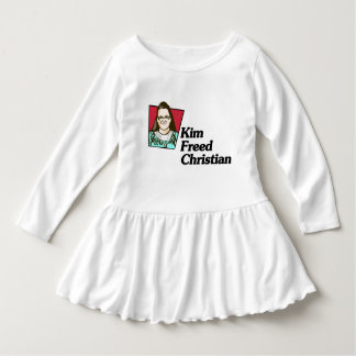 Kim Freed Christian Toddler Girl Dress