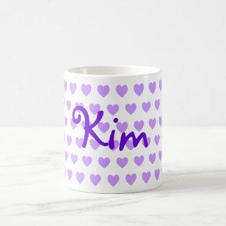 Kim in Purple Basic White Mug