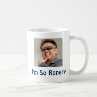 Kim Jong-il Coffee Mug