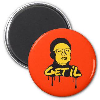 Kim Jong Il - Get s Il Magnets