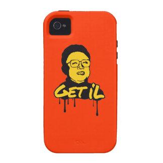 Kim Jong Il - Get s Il Vibe iPhone 4 Hüllen