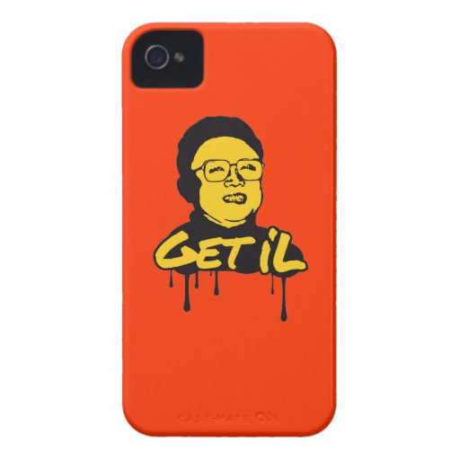 Kim Jong Il - Get's IL iPhone 4 Case-Mate Cases