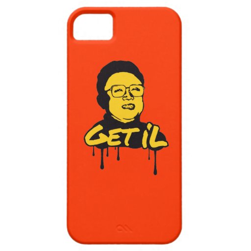 Kim Jong Il - Get's IL iPhone 5 Covers