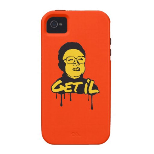 Kim Jong Il - Get's IL Vibe iPhone 4 Covers