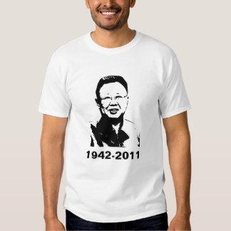 Kim Jong Il is dead T-shirts