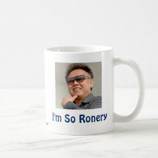 Kim Jong-il Classic White Coffee Mug