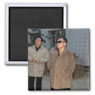 Kim Jong-il North Korea Refrigerator Magnets