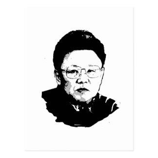 Kim Jong Il Postcard