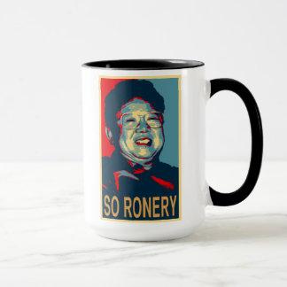 Kim Jong-Il So Ronery Mug
