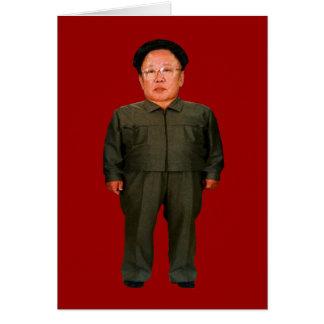 Kim Jong illin' Greeting Card