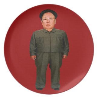 Kim Jong illin' Plates