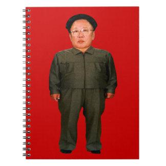 Kim Jong illin' Spiral Note Books