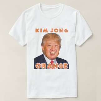 Kim Jong Orange | Donald Trump + Kim Jong Un T-Shirt