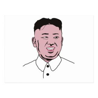 Kim Jong-un | 김정은 Postcard