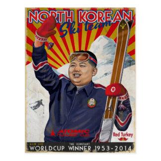 Kim Jong Un jpg Vykort