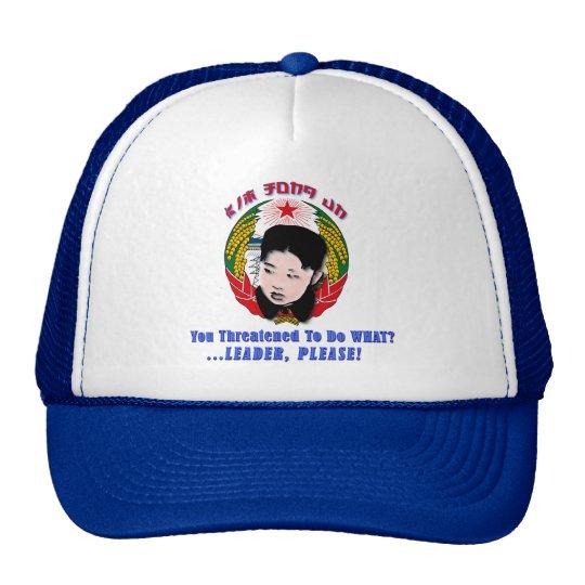 Kim Jong Un - Leader, Please! Cap