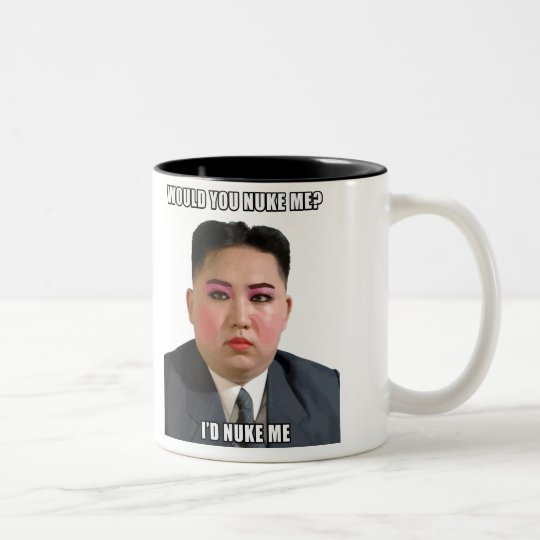 Kim Jong Un Nuke Me Meme Mug