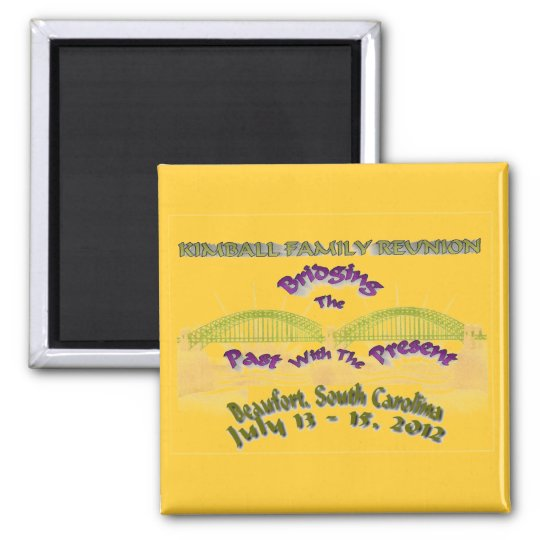 Kimball Family Reunion Magnet