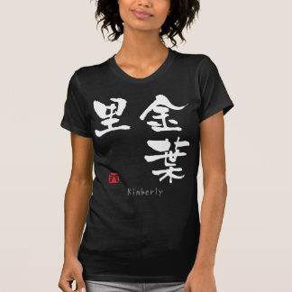 Kimberly KANJI(Chinese Characters) T-shirts
