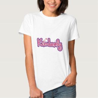 Kimberly Name Personalized T Shirts